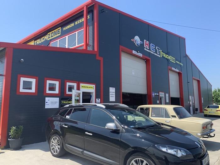 A gépjármű-javítási képzésekre kialakított HCT Szakképzési Center II.