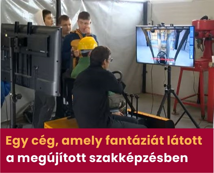 HTC szimulációs tanműhely oktatása a megújított szakképzési rendszerben